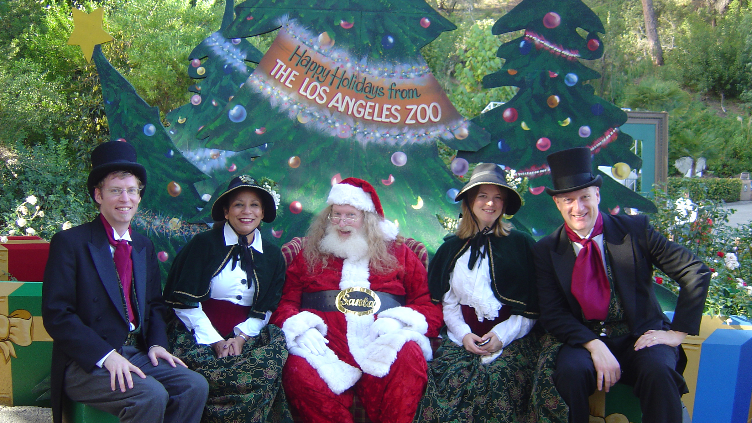 Beverly Hills Dickens Christmas Caroling